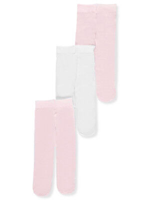 Luvable Friends Baby Girls' 3-Pack Tights