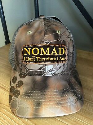 ca4ee71dd784f Nomad Outdoors Camo Hunting Hat with Grey Mesh Back