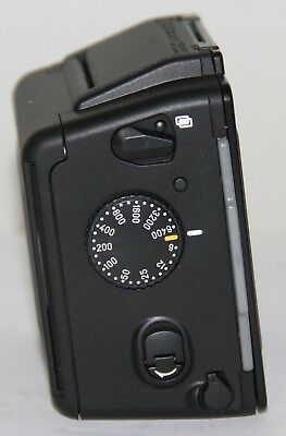 Contax 645 MFB-1 Back Complete With 120/220 Film Insert + Cap & Slide MINT GREAT