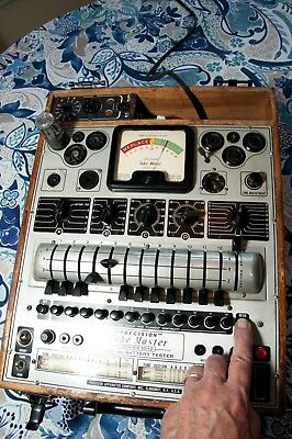 Precision 10-12 Tube Tester- Restored To Working Order