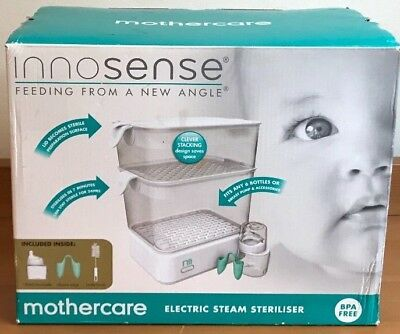 Electric Steamer Steriliser. Mothercare Innosense Set