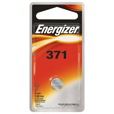 Energizer 371BPZ Silver Oxide Button Cell Battery - 1 Pack New