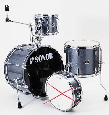 SONOR Players DrumSet - Black Galaxy Sparkle