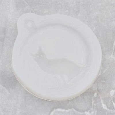 Moon Cat Silicone Mold Resin Mould for Pendant Jewelry Making Tool DIY Handcraft