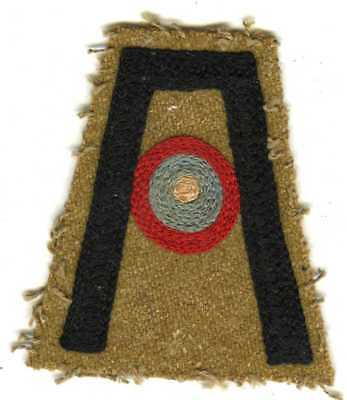 Off WW! Uniform French Made 1st Army Aviation Section Shoulder Sleeve Insignia