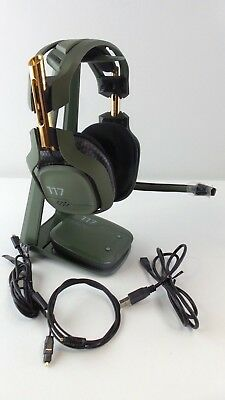 Astro A50 Gaming Headset Halo edition for PC, PS4 Used Read #117Ha