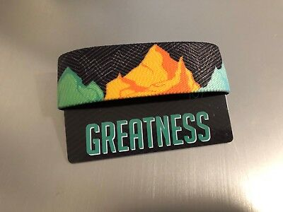 Greatness Zox Strap Reversible Wristband Paper Card NEW