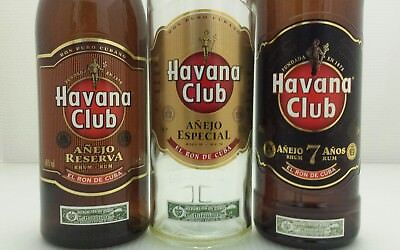 Havana club bottles - When size (and price) really DOES matter!