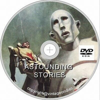 Astounding Science Fiction Magazine 349 Issues on dvd rom