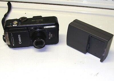 Canon S50 Camera with Battery/Charger and Card     WORKS great!!