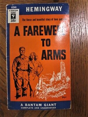 A Farewell to Arms by Ernest Hemingway (1954, Early Paperback)