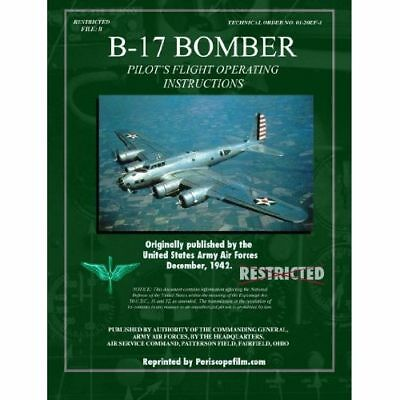 Wwii b 17 bomber pilots flight manual airplane book 1700 picclick wwii b 17 bomber pilots flight manual airplane book fandeluxe Image collections