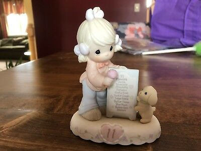 1996 Enesco Corp Precious Moments GROWING IN GRACE Age 11 260924
