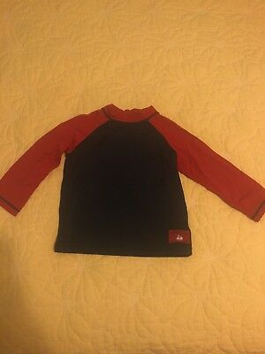 Janie and Jack Boys 18-24 Month Long Sleeve Rashguard