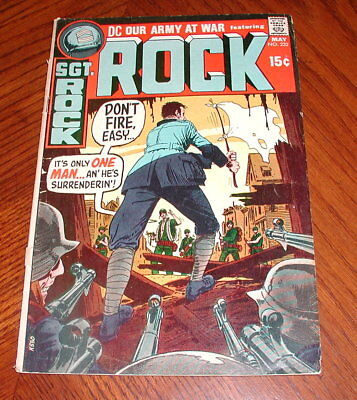 OUR ARMY AT WAR #232  DC Comics  SGT. ROCK