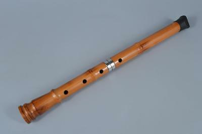 K8143:SHAKUHACHI/five-holed Wooden Japanese flute called/instrument/flute, auto