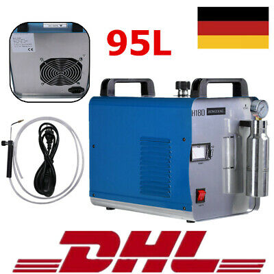 Portable oxygen hydrogen water welder flame polisseuse machine à polir H180 95L