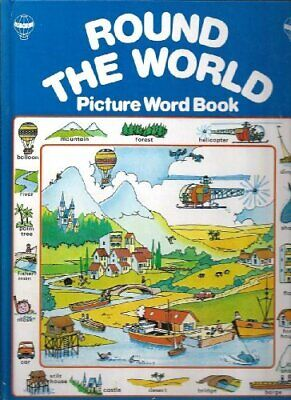 Round the World in English (Picture Word Book) by Watson, Carol Hardback Book