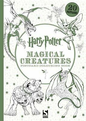 Harry Potter Magical Creatures Postcard Book 2 by Warner Bros Book The Cheap