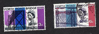 1964 Opening of Forth road bridge SG659-60 FINE Used