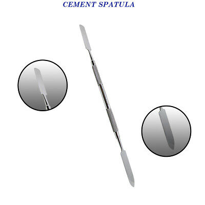 Dental Cement Spatula Mixing Cements Double Ended Probe Dentist Lab instruments