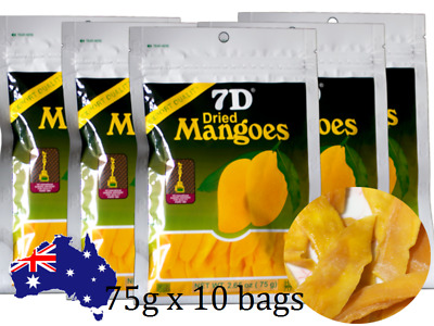 Hot Selling ~10 bags 7D Dried Mango(10 bags×75g)