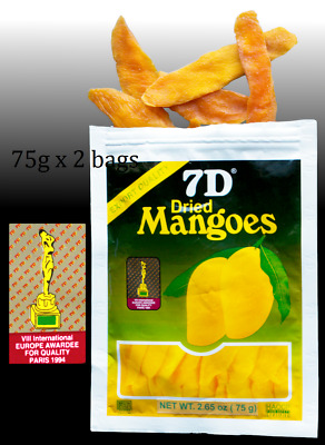 Hot Selling ~2 bags 7D Dried Mango(2 bags×75g)