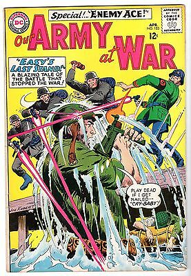 Our Army at War #153 Featuring Sgt. Rock & Enemy Ace, Fine - VF Condition'