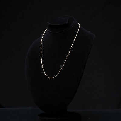 """Unisex Solid 14K Gold Rope Chain plain Strong Necklace 16/""""/_30/"""" long  1.5mm/_8.0mm"""