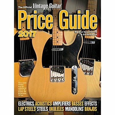 The Official Vintage Guitar Magazine Price Guide 2017 G