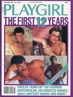 Playgirl Magazine's The First 12 Years 1985 - Gay Interest