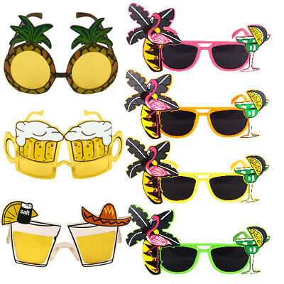 Hawaiian Summer Sunglasses Glasses Specs Tropical Party Fancy Dress Novelty