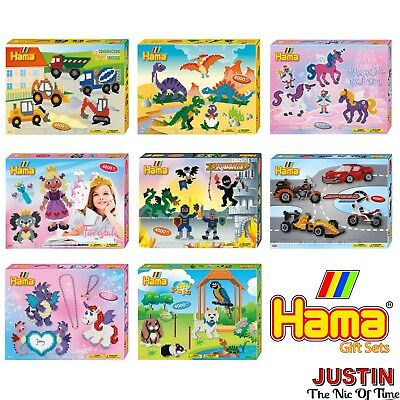 Hama Beads Gift Set Activity Kits Boys & Girls Craft Boxed Christmas Filler