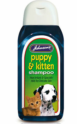 Johnsons PUPPY & KITTEN Shampoo Dog Cat Health Fresh