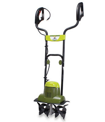 Electric Tiller Cultivator Start New Garden Recovering Old Lawn Loosen Ground