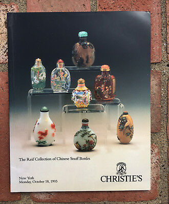 Christie's The Reif Collection of Chinese Snuff Bottles  NY October 18, 1993