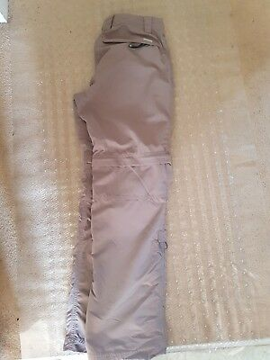 Berghaus Beige Zip Off Trousers Size 8