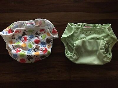 Blueberry Diaper Brand Covers One Size - Owl and Meadow Green