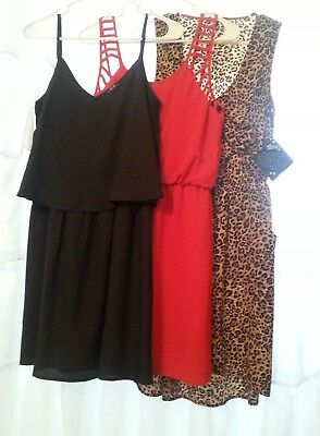 Womens Juniors Dress Lot - 3/pc Lot- Size M - NWT