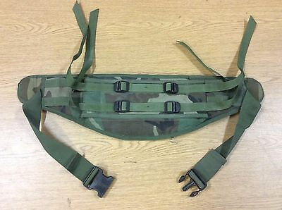 Woodland Camo Molle Ii Waist Belt Nice Shape Usa Made Army Issue