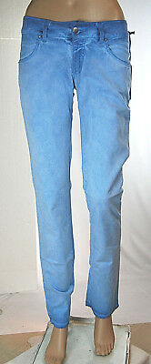Jeans Donna Pantaloni MET Regular Fit Made in Italy C990 Tg 27