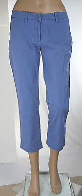Jeans Donna Pantaloni MET Capri Regular Fit Made in Italy C992 Tg 27