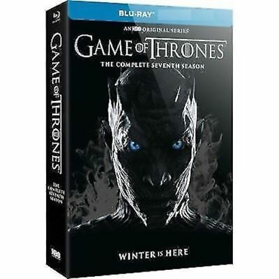 Game of Thrones Season 7 Blu-Ray-Conquest & Rebellion Seventh Season Free Post
