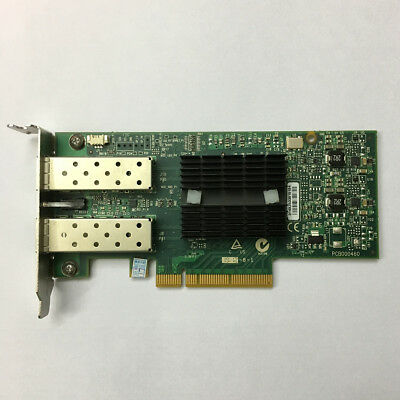 Mcx312A-Xcbt Mellanox Connectx-3 Dual Port En 10/40/56 Gigabit Ethernet Card