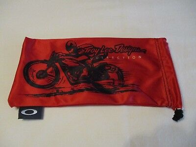 Oakley Troy Lee Designs Collection Microfiber Eyeglass--Sunglass Bag