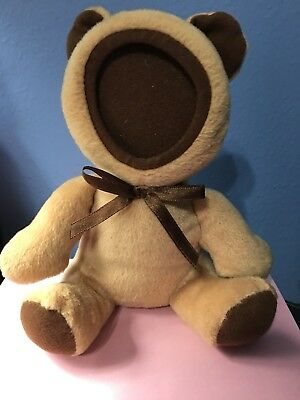 PHOTO CUDDLER BROWN BEAR Boy Or Girl BABY INFANT CUTE EUC