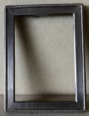 Solid Silver oblong picture frame 1st of pair