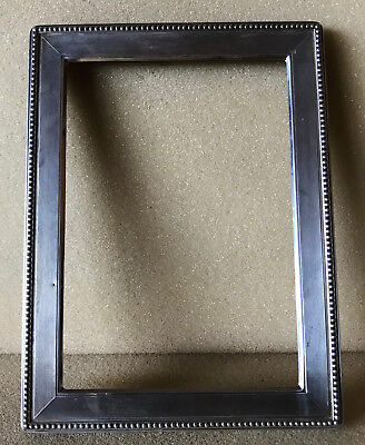 Solid Silver oblong picture frame 2nd of pair