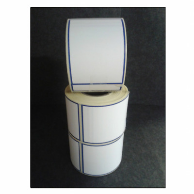Self Adhesive White Thermal Label Rolls 58 x 81mm 350 Labels per Roll Pack of 32