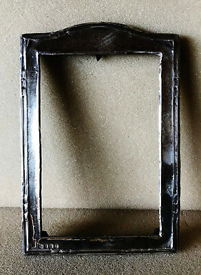 Solid Silver oblong picture frame 1931